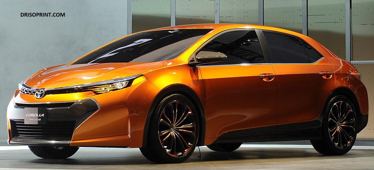 2016 Toyota Corolla Furia Specification