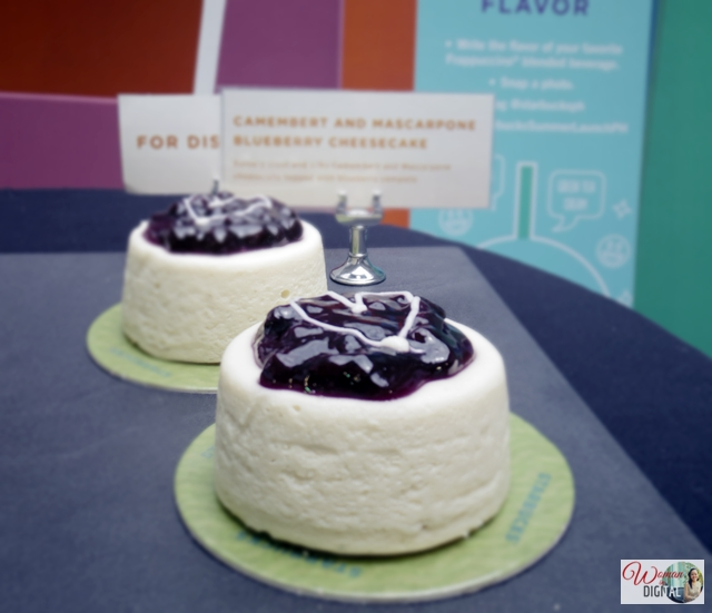 Mascarpone Blueberry Cheesecake