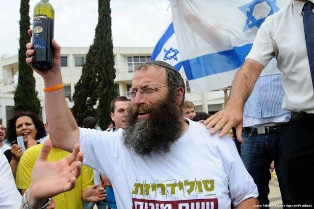 Rabbi Zionis: Sekarang Kita Habisi Muslim Palestina!