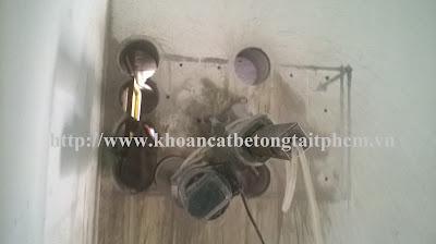 Khoan cắt bê tông tại quận Tân Phú