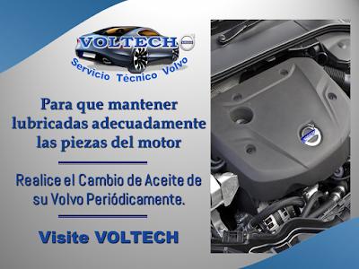 Cambio de Aceite Volvo