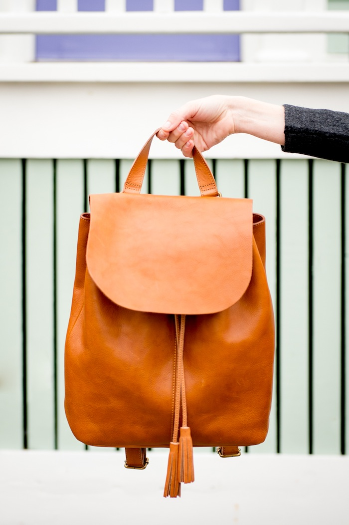 J. Jill leather backpack