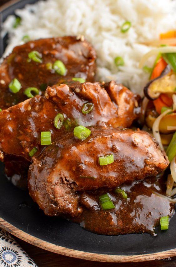 Slow Cooked Teriyaki Pork Tenderloin