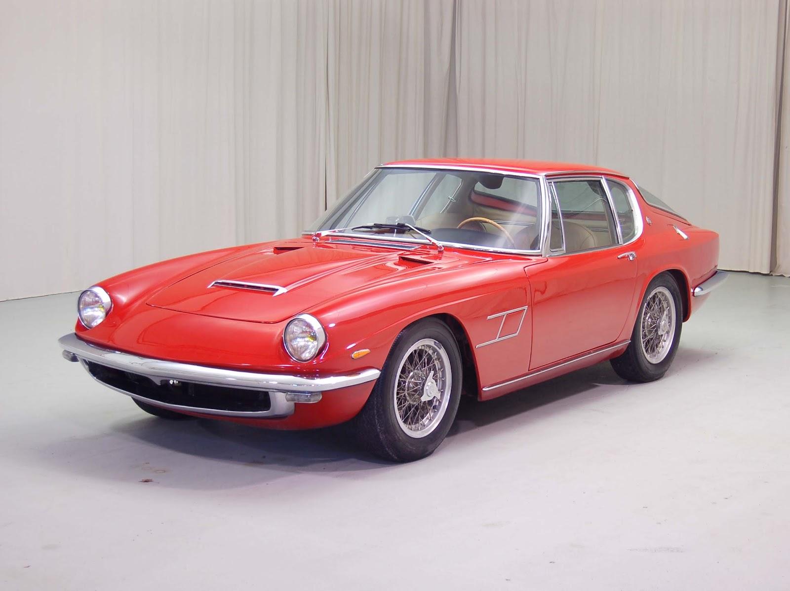 Maserati Mistral on Talbot Lago Cars
