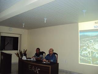 3º dia do XXVII ENGAJE - palestra com Vinicius Valença (à noite) (do blog de Cláudio Luciano)