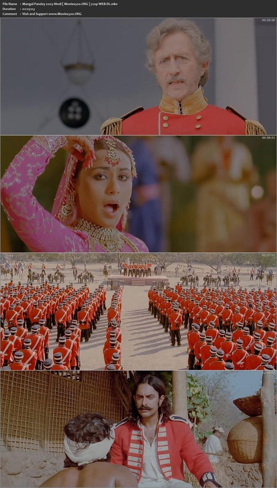 Mangal Pandey 2005 Hindi Full Movie 720p WEB DL 1GB at movies500.site