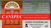 James Watters Clarington Home Building Inspectors Clarington Durham Region Oshawa Whitby Ajax