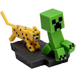 Minecraft UCC Distributing Creeper & Ocelot Other Figure