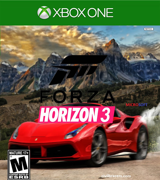 Microsoft Xbox One Game { FORZA HORIZON 3 }