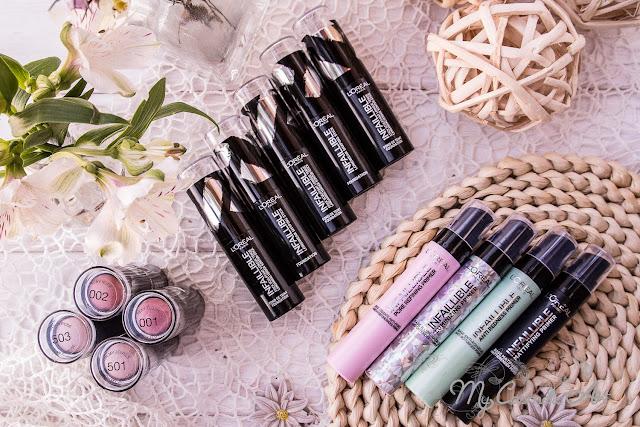 Novedades de L'Oreal en formato Stick: maquillaje, iluminadores, coloretes y primers.
