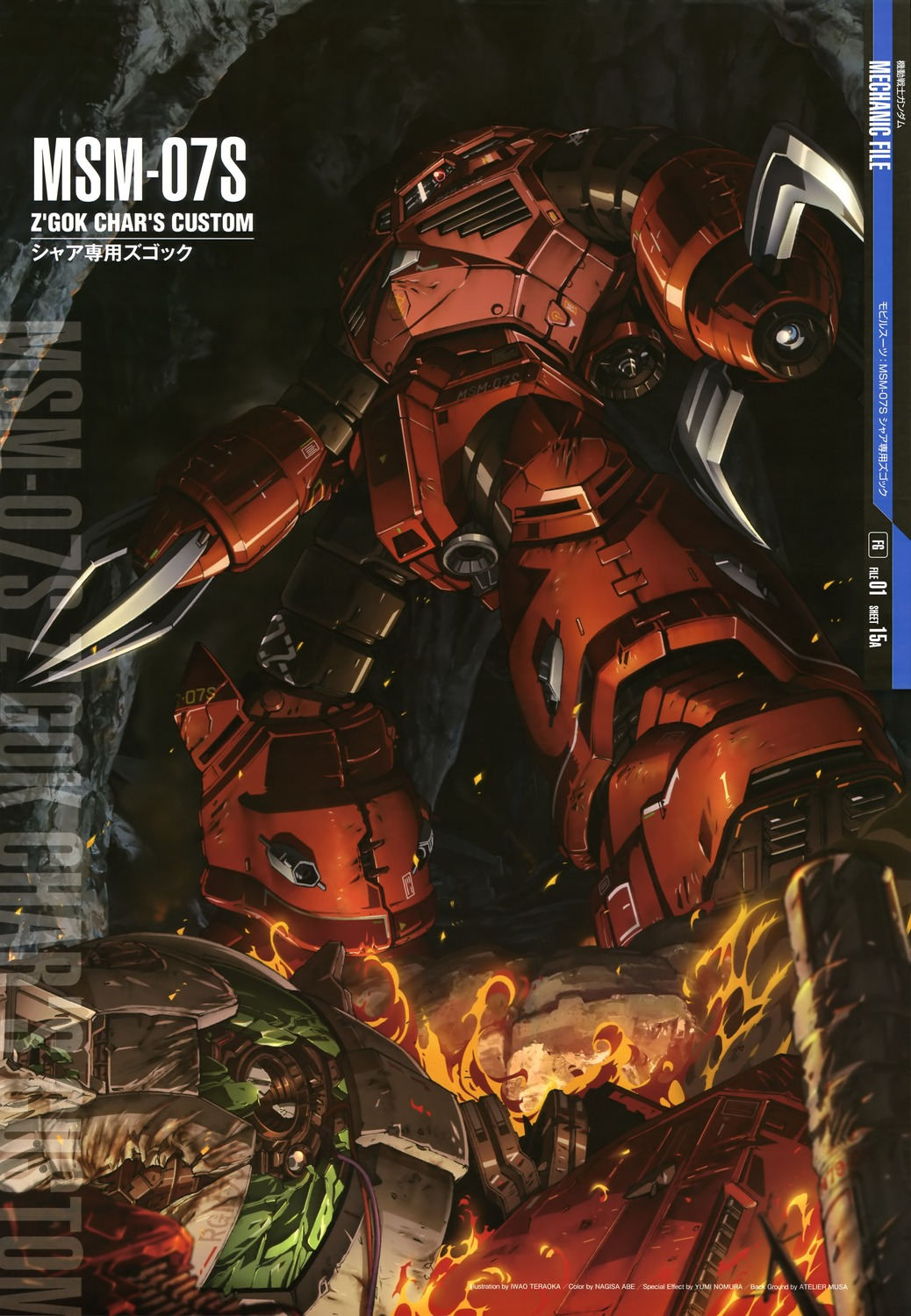 Gundam Mechanic File Posters Gundam Kits Collection News