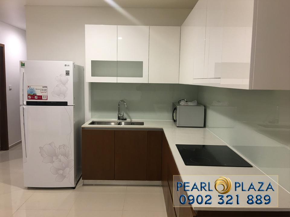 Pearl Plaza Bình Thạnh - tủ bếp cao cấp
