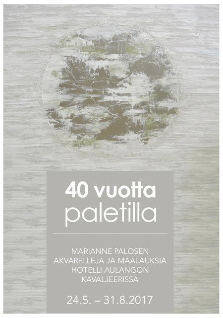 Marianne Palosen akvarelleja ja maalauksia