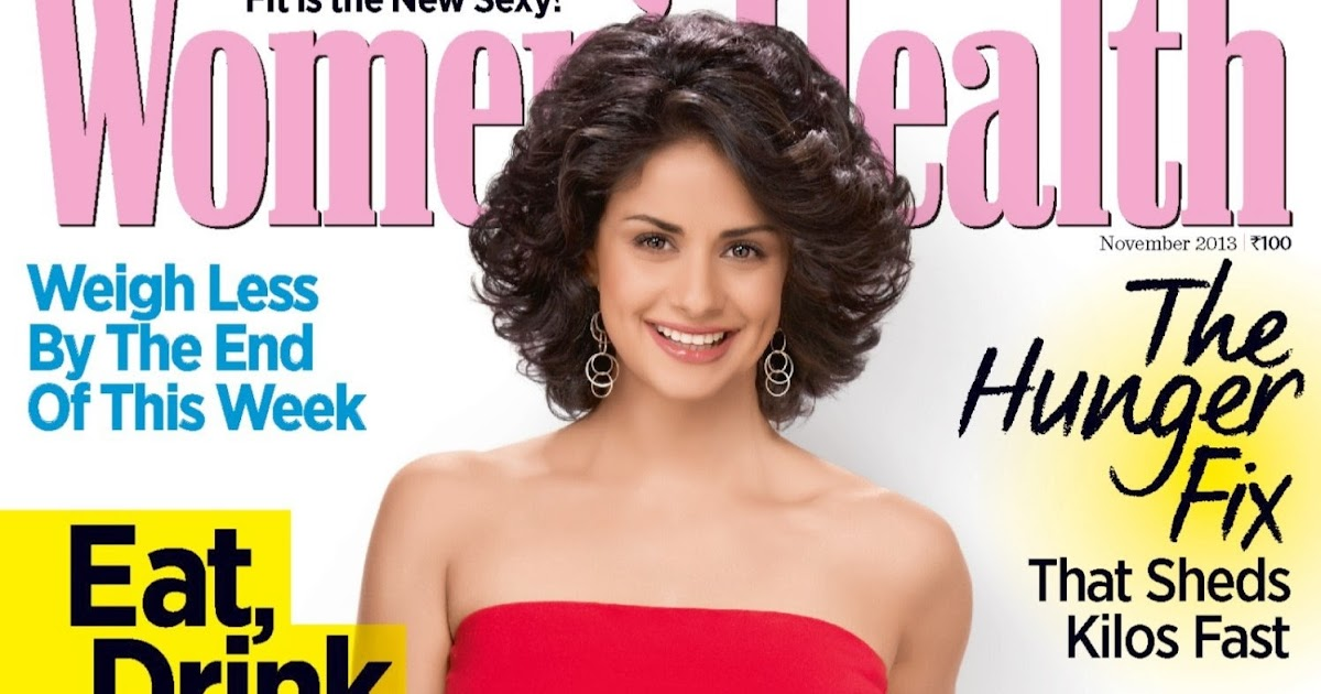 Gul Panag On The Cover Page of Women's Health Magazine ...