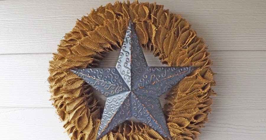 New Orleans Crafts By Design Burlap Ruffle Wreath With
