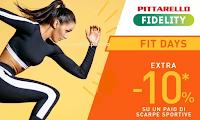 Logo Pittarello ''Fit Days'': un ulteriore sconto del 10% sulle Sneakers sportive