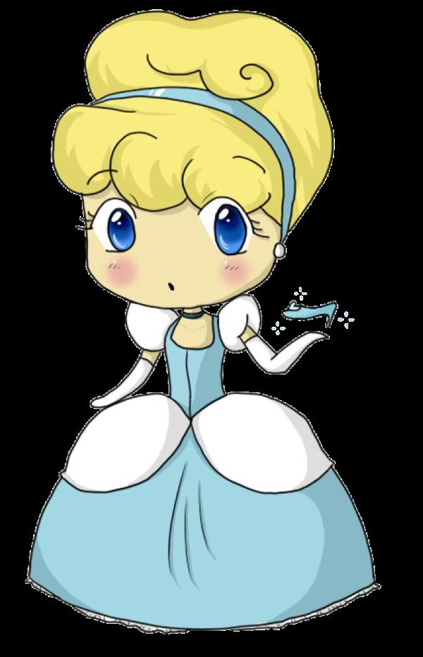 princess Cinderella chibi công chúa cô bé lọ lem 4