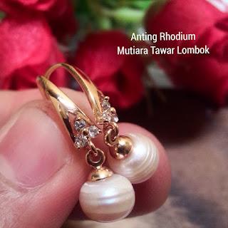 Anting Mutiara Lombok Murah