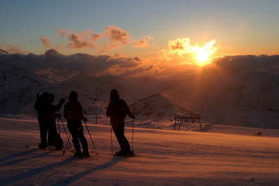 Tramonto Les 2 Alpes