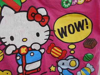 キティちゃんのプリント