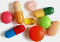 A photo of medication