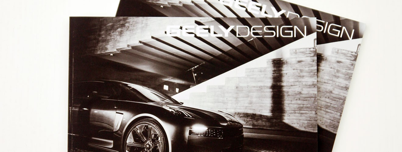 Geely Design custom magazine
