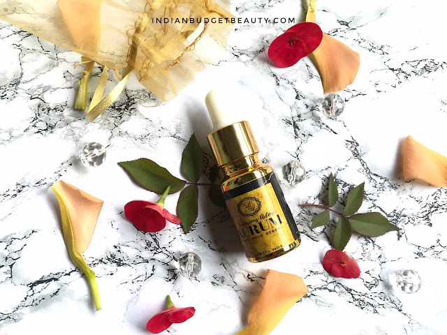 luxurious adore aurum 24K gold serum review