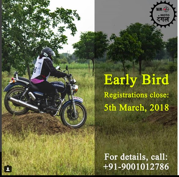 Moto Dangal Early Bird Registration