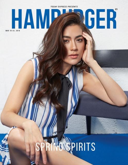 คิมเบอร์ลี่ แอน เทียมศิริ นิตยสาร HAMBURGER ISSUE 23  MAR 2016