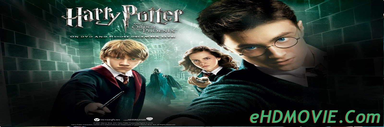 Harry Potter and the Order of the Phoenix 2007 Full Movie English 720p – 480p ORG BRRip 500MB - 1.2GB ESubs Free Download
