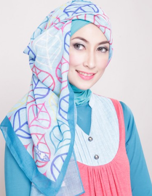 Tutorial Hijab Pesta Modern