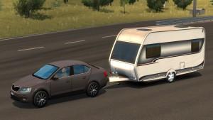 Singleplayer Caravan Trailer
