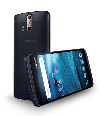 ZTE Axon (unlocked) with 5.5-inch screen and 4GB RAM launched in the US for $449