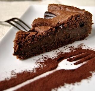 La torta al cioccolato fatta da noi