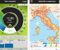 App di test per la rete dati cellulare