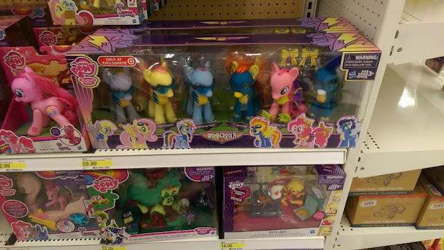 Wonderbolts Brushable My Little Pony Set at Target