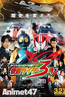 Super Hero Taisen GP: Kamen Rider 3 -  2015 Poster