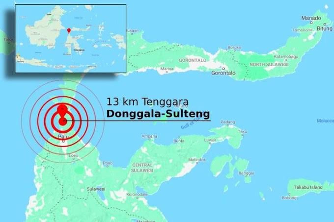 BMKG Sudah Cabut Peringatan Tsunami akibat Gempa Berkekuatan 7,7 di Sulteng