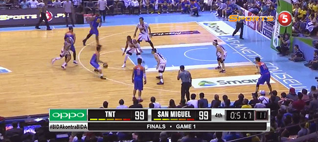 TNT def. San Miguel, 104-102 (REPLAY VIDEO) Finals Game 1 / June 21
