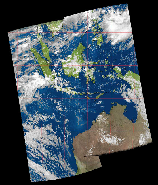 Composite Image from satellite NOAA-19