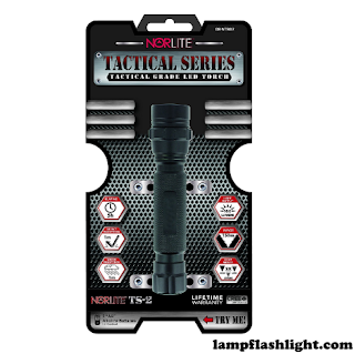 Norlite Tactical Series TS02 2AA Flashlight, Dark.