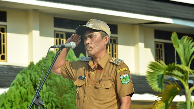"""Syahlan Pimpin Upacara Haornas, """"Ayo Olahraga Bangun Indonesia"""""""