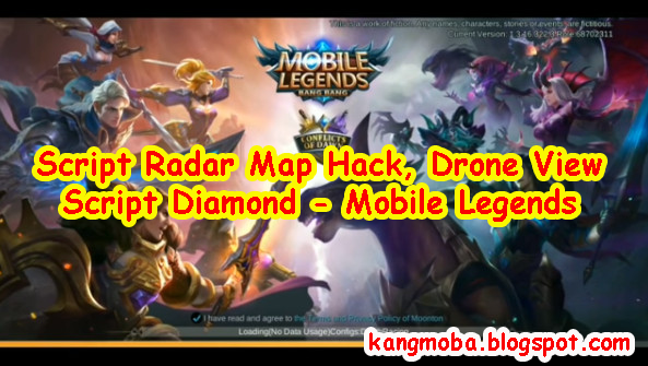 Script Radar Map Hack, Drone View dan Script Diamond - Mobile Legends