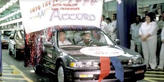 Saat Pertama Kalinya Honda Accord Maestro diLuncurkan (Launching)