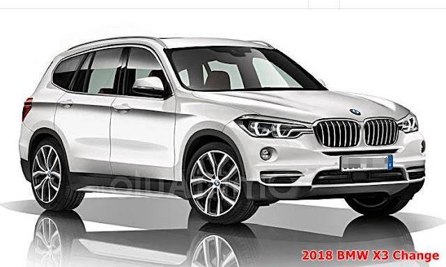 2018 BMW X3 Change