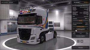 Truck - DAF XF 116 Jelle