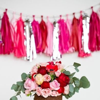 Pretty Ways To Use Paper Tassels in Your Celebrations