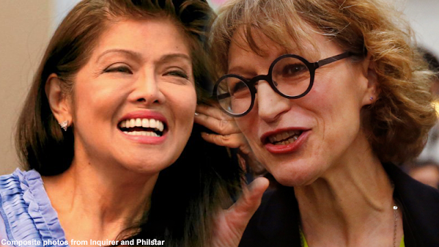 Imee Marcos dares Callamard: Try Shabu for a week, let's see if it has no effect