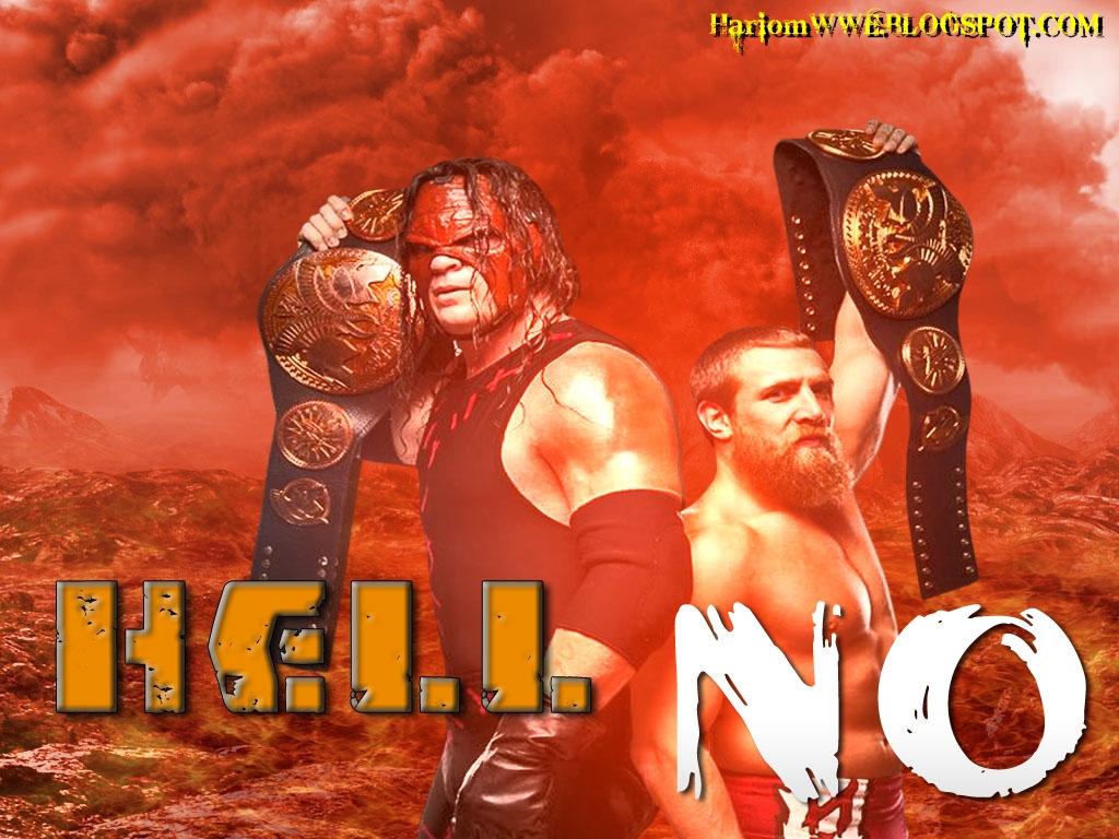 Hell No: Daniel Bryan & Kane Team Hell No Wallpaper ''