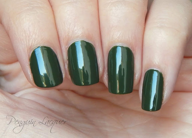 sally hansen evergreen nah